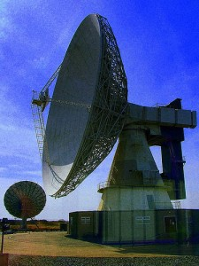 Large Telecommunication Dish