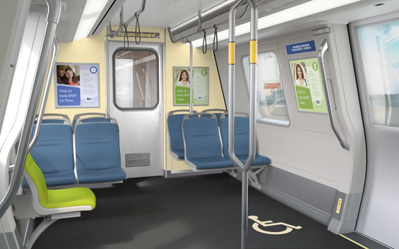 Photo of New Bart Car