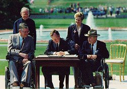 July 26, 1990 - Signing of the ADA