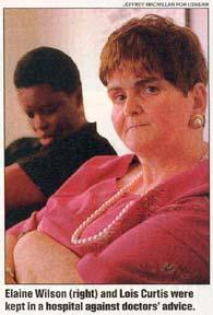 Lois Curtis and Elaine Wilson - Olmstead Plaintiffs